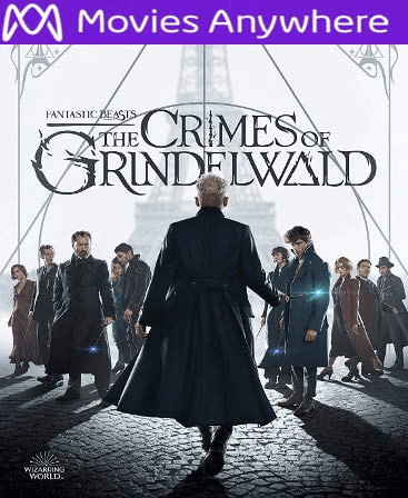 Fantastic Beasts: The Crimes of Grindelwald HD UV or iTunes Code via MA
