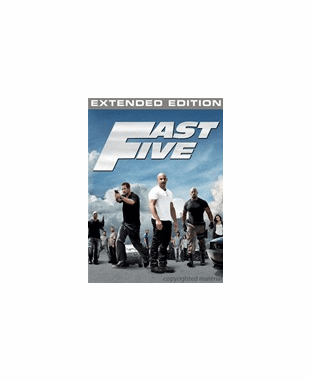Fast Five DVD Movie