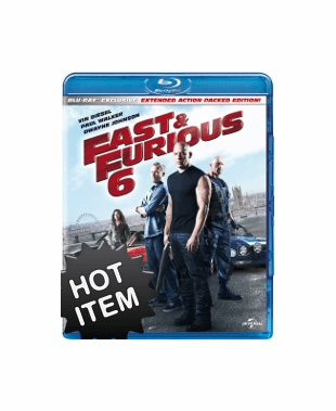 Fast & Furious 6 (Blu-ray ONLY USED)