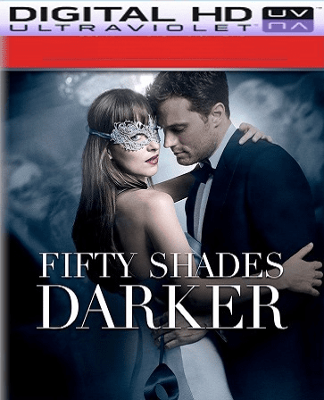 Fifty Shades Darker HD Digital Ultraviolet UV Code