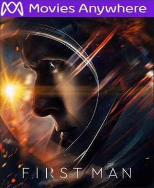First Man HD UV or iTunes Code via MA