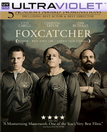 Foxcatcher SD Digital Ultraviolet UV Code
