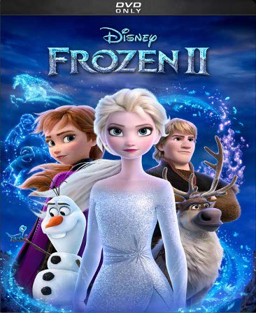 Frozen 2 DVD Movie