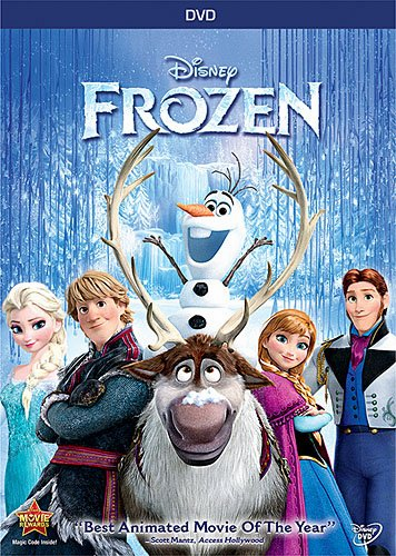 Frozen DVD (USED)