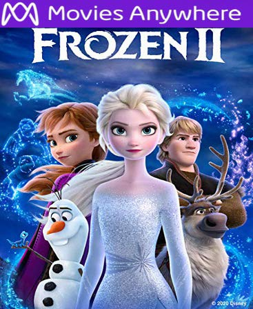 Frozen II HD Vudu or iTunes Code via MA