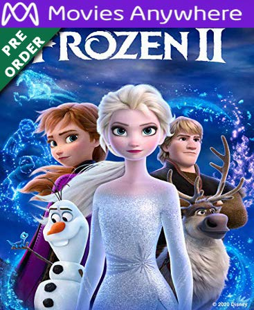 Frozen II HD Vudu or iTunes Code via MA (PRE-ORDER WILL EMAIL Feb 25-27)