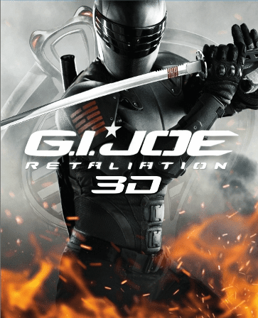 G.I. Joe: Retaliation 3D Blu-ray Only ( USED )