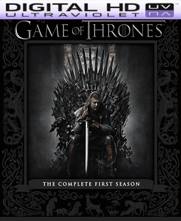 Game of Thrones Season 1 HD Vudu (Insta Watch)