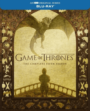 Game of Thrones: Season 5 Box Set Blu-ray (Like New / Never Played / No Digital Copy)