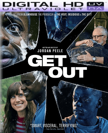 Get Out HD Digital Ultraviolet UV Code
