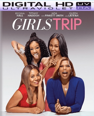 Girls Trip HD Ultraviolet UV Code