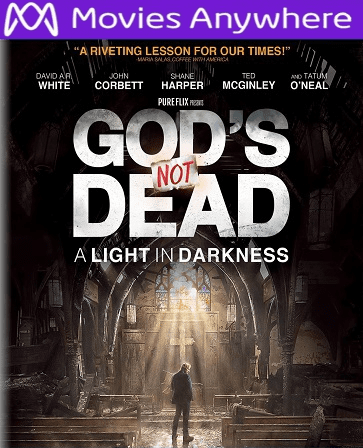 God's Not Dead: A Light in Darkness  HD UV or iTunes Code via MA