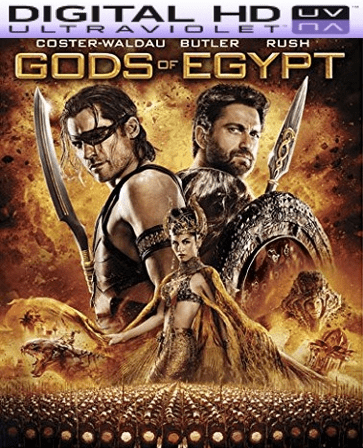 Gods Of Egypt HD Digital Ultraviolet UV Code