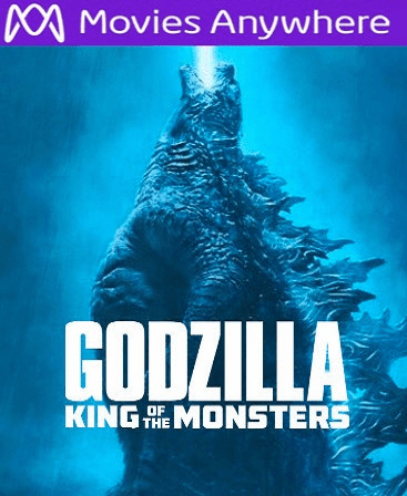 Godzilla: King of the Monsters HD Vudu or iTunes Code via MA
