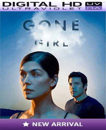 Gone Girl HD Digital Ultraviolet UV or iTunes Code
