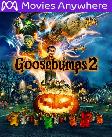 Goosebumps 2 HD UV or iTunes Code via MA