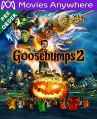 Goosebumps 2 HD UV or iTunes Code via MA (PRE-ORDER WILL EMAIL ON OR BEFORE 1-15-19)
