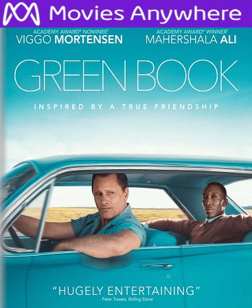 Green Book HD UV or iTunes Code via MA