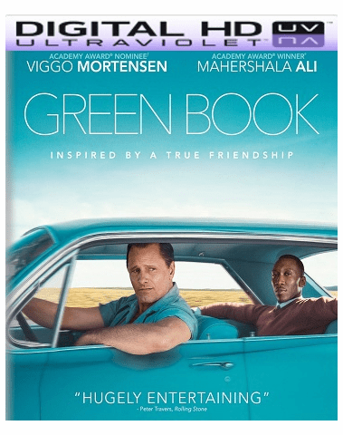 Green Book HD Vudu Ports To Movies Anywhere & iTunes (Insta Watch)