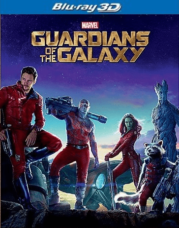 Guardians of the Galaxy 3D Blu-ray Single Disc (USED)