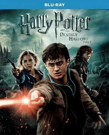 Harry Potter And The Deathly Hallows Part 2 ( Blu-ray ONLY USED)