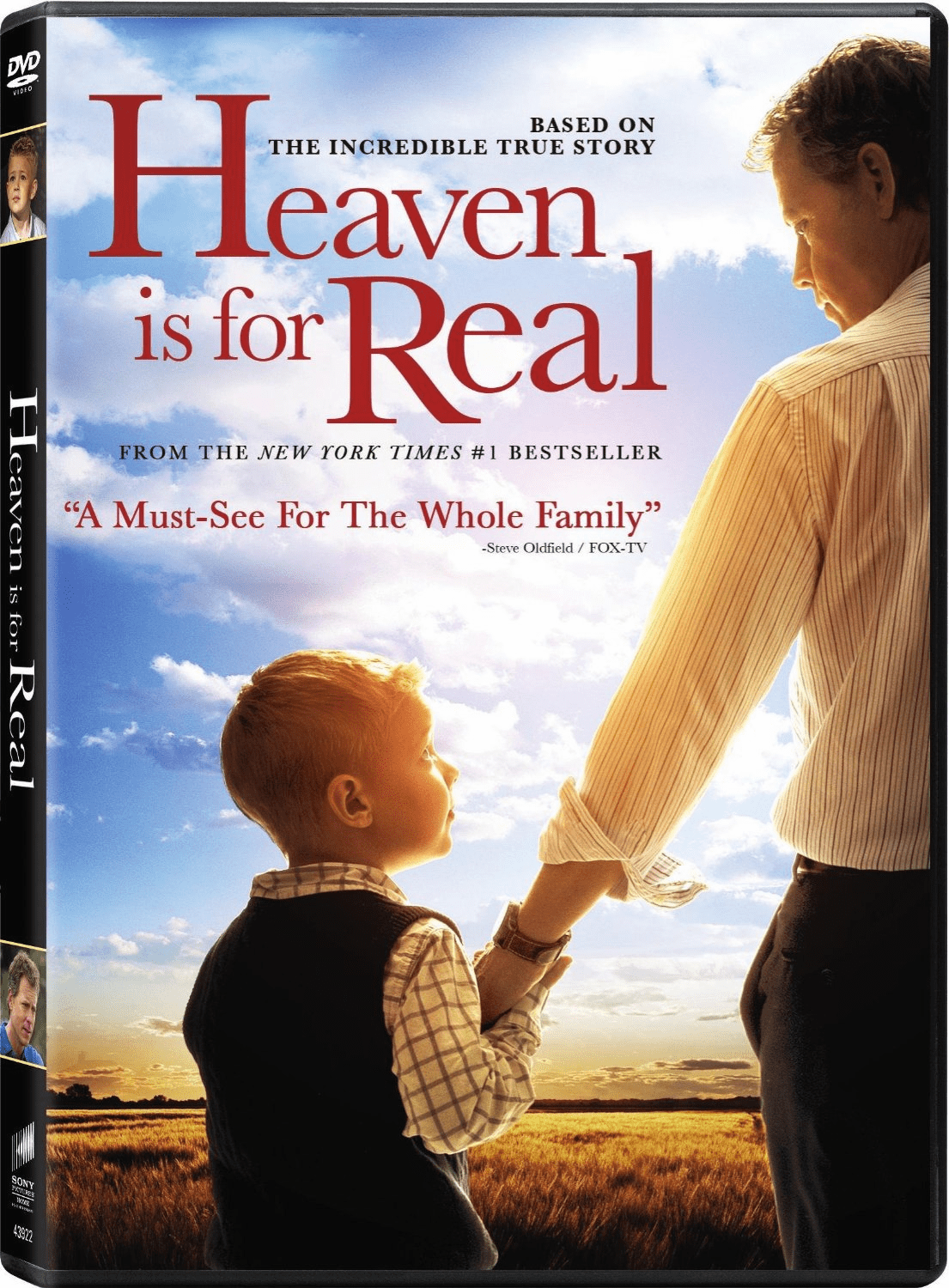 Heaven Is For Real DVD Movie (USED)