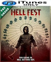 Hell Fest HD iTunes Code (PRE-ORDER WILL EMAIL ON OR BEFORE BLU RAY RELEASE)