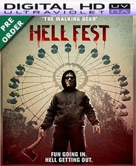 Hell Fest HD VUDU UV Code (PRE-ORDER WILL EMAIL ON OR BEFORE BLU RAY RELEASE)