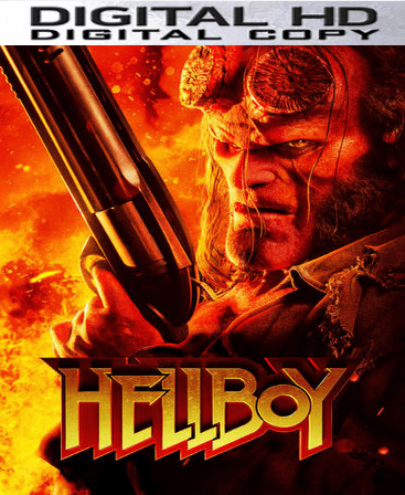 Hellboy 2019 HD Vudu or iTunes Code