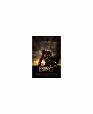 Hellboy II: The Golden Army DVD Movie