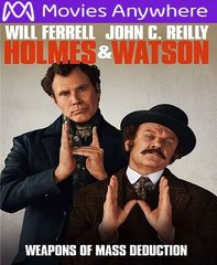 Holmes and Watson HD UV or iTunes Code via MA