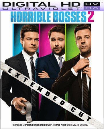 Horrible Bosses 2 HD Digital Ultraviolet UV Code