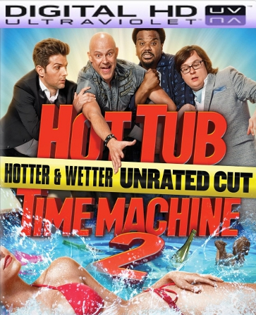 Hot Tub Time Machine 2 HD Digital Ultraviolet UV Code
