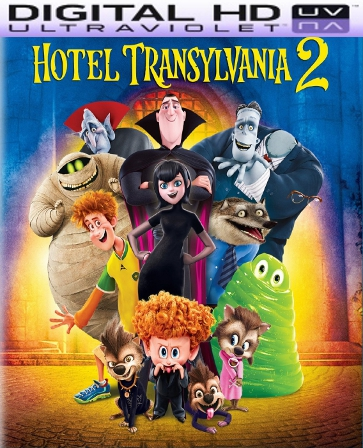 Hotel Transylvania 2 HD Digital Ultraviolet UV Code