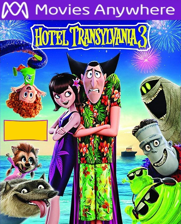 Hotel Transylvania 3 HD UV or iTunes Code via MA