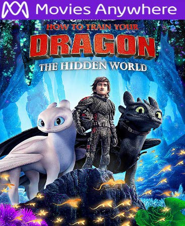 How to Train Your Dragon: The Hidden World UV or iTunes