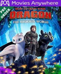 How to Train Your Dragon: The Hidden World UV or iTunes Code via MA (PRE-ORDER WILL EMAIL ON OR BEFORE BLU RAY RELEASE)