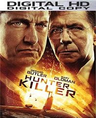 Hunter Killer HD UV or iTunes Code