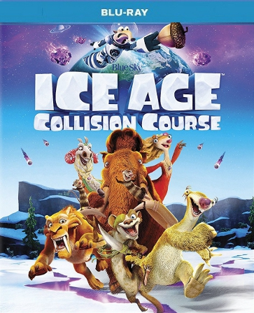 Ice Age Collision Course Blu-ray