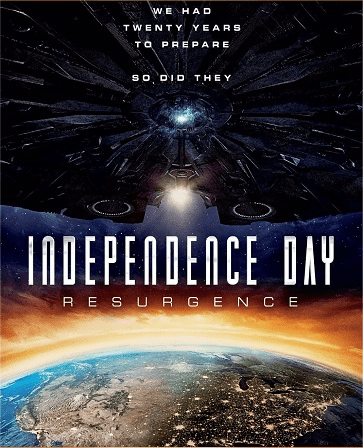 Independence Day Resurgence DVD (USED LIKE NEW)