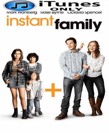 Instant Family HD iTunes 4K Code