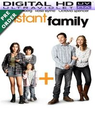 Instant Family HD VUDU UV Code (PRE-ORDER WILL EMAIL ON OR BEFORE BLU RAY RELEASE)