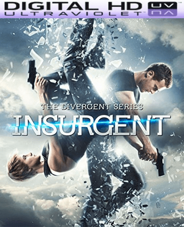 Insurgent HD Digital Ultraviolet UV Code