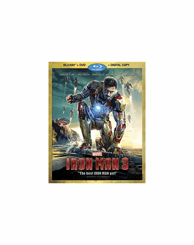 Iron Man 3  (Blu-ray ONLY USED)