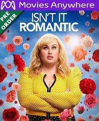 Isn't It Romantic HD UV or iTunes Code via MA (PRE-ORDER WILL EMAIL ON OR BEFORE BLU RAY RELEASE)