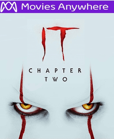 It: Chapter Two HD Vudu or iTunes Code via MA