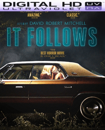 It Follows HD Digital Ultraviolet UV Code