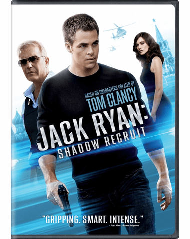 Jack Ryan Shadow Recruit DVD