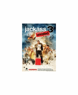Jackass 3 Unrated  DVD Movie