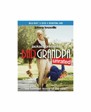 Jackass Presents: Bad Grandpa (Blu-ray ONLY USED)